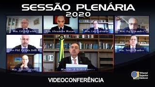 Sessão Plenária - Dia 09 de junho de 2020
