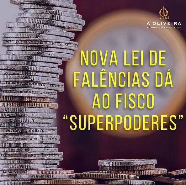 "Nova Lei de Falências dá ao Fisco ""superpoderes"""