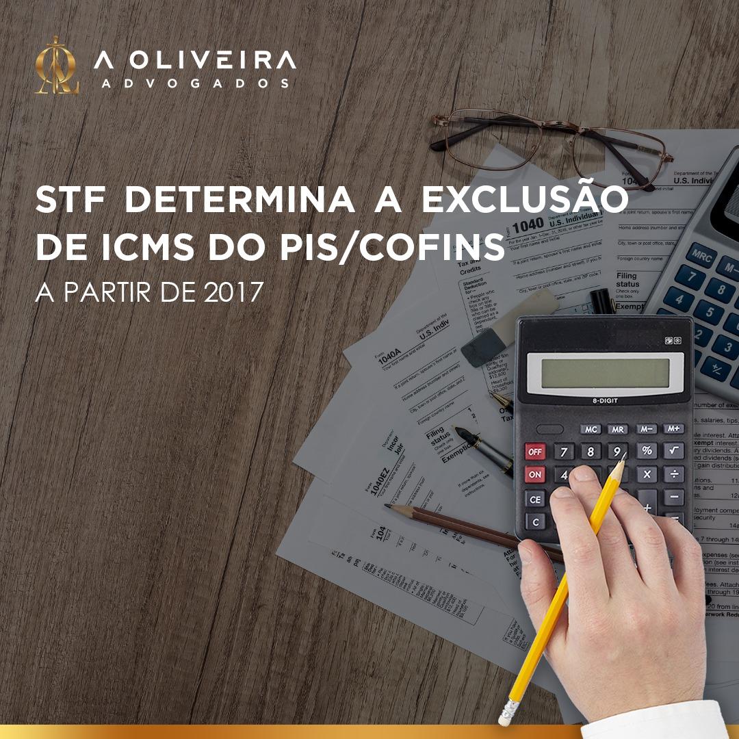 STF determina a exclusão de ICMS do PIS/COFINS a partir de 2017